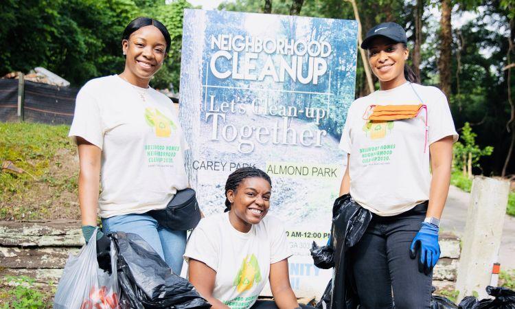 Community Cleanup   Bellwood Homes   Atlanta, GA