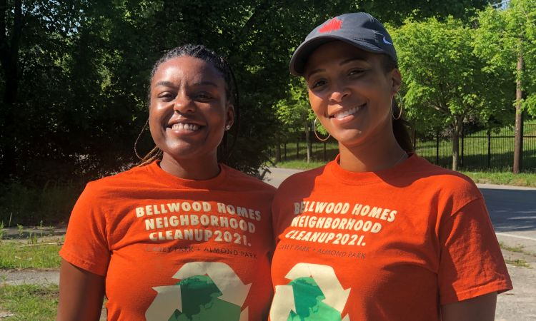 Westside Community Clean-Up  Bellwood Homes   Atlanta GA